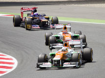 Formula 1 cars Stock Photos