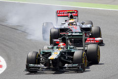 Formula 1 cars Stock Photography