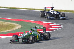 Formula 1 Caterham CT03 - Charles Pic Stock Photo