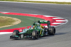 Formula 1 Caterham CT03 - Charles Pic Stock Photography