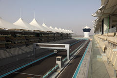 Formula 1 Circuit in Abu Dhabi Stock Photos