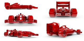 Formula 1 concept SET 1 Stock Photo