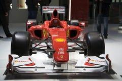 Formula 1 del Ferrari F10 Fotografia Stock Libera da Diritti