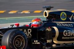 Formula 1 driver Stock Photo