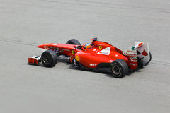 Formula 1  Fernando Alonso, team Scuderia Ferrari Stock Photography