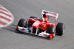 Formula 1 Grand Prix Royalty Free Stock Photos