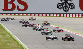 Formula 1 Grand Prix Royalty Free Stock Photography