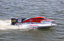 Formula 1 H2O Powerboat GrandPrix Royalty Free Stock Photography