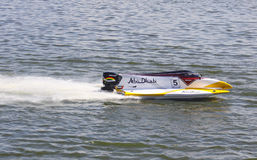 Formula 1 H2O Powerboat GrandPrix Royalty Free Stock Image