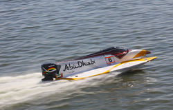 Formula 1 H2O Powerboat GrandPrix Royalty Free Stock Photo