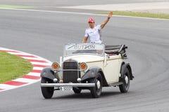 Formula 1 - Jenson Button Royalty Free Stock Photo