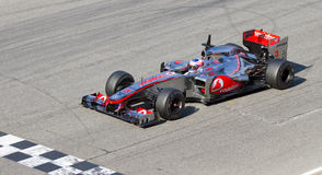 Formula 1 Jenson Button Royalty Free Stock Image