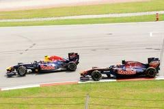 Formula 1 malese grande Prix 2011 di Petronas Immagini Stock Libere da Diritti