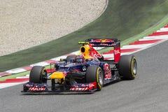 Formula 1 - Mark Webber Stock Image