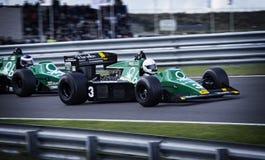 Formula 1 motor speedway race stock image