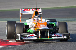 Formula 1 - Nico Hulkenberg Royalty Free Stock Photo