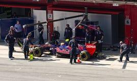 Formula 1 Pit Stop Stock Images