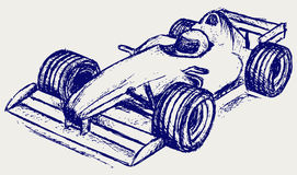 Formula 1 race stock illustration