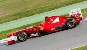 Formula 1 racing Stock Photos