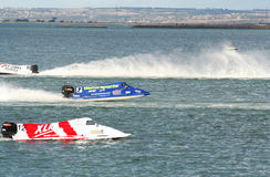 Formula 1 racing boats Stock Photos