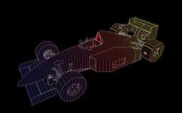 Formula 1 Racing Car royalty free stock image