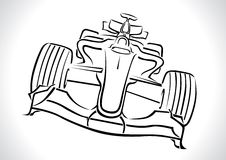 Formula 1 Racing Car Vector Stock Photos