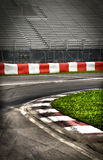 Formula 1 racing circuit royalty free stock photo