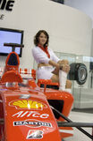 Formula 1 in the rubber Bridgestone Royalty Free Stock Image