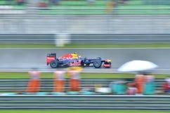 Formula 1, Sebastian Vettel, squadra Red Bull Fotografia Stock