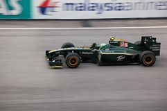 Formula 1 Sepang 2010 Royalty Free Stock Images