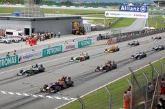 Formula 1 Sepang 2010 Stock Images