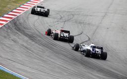 Formula 1. Sepang. April 2010 royalty free stock image