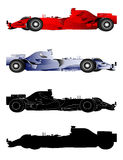 Formula 1 Sport Cars Royalty Free Stock Photography