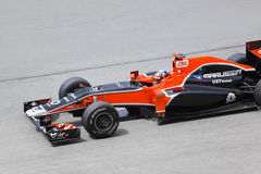 Formula 1, Timo Glock, team Marussia Royalty Free Stock Photos