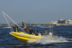 Formula 1 on Water, GP Russia Royalty Free Stock Photos