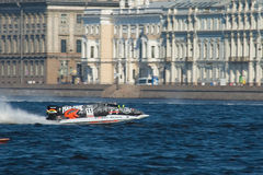 Formula 1 on Water, GP Russia Royalty Free Stock Photography