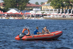 Formula 1 on Water, GP Russia Royalty Free Stock Photo