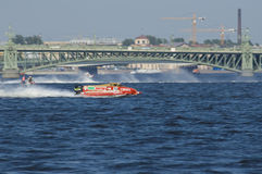 Formula 1 on Water, GP Russia Stock Image
