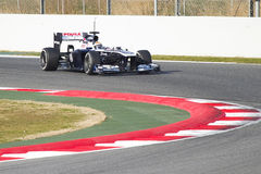 Formula 1 Williams FW35 - Pastor Maldonado Royalty Free Stock Image