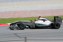 Formula 2010 1 - grande Prix malese 13 Immagine Stock Libera da Diritti