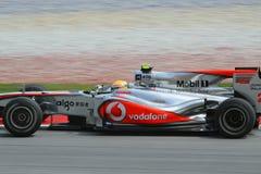 Formula 2010 1 - grande Prix malese 18 Fotografie Stock Libere da Diritti