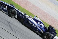 Formula 2010 1 - grande Prix malese 22 Fotografie Stock