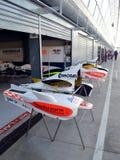 Formula 3 hoods Stock Images