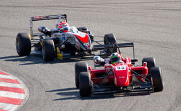 Formula 3 race Royalty Free Stock Photo
