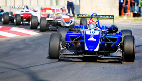 Formula 3 race around the Parliament House Stock Photo