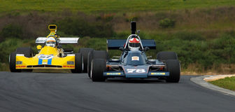 Formula 5000 -Talon MR1 & March 73A Stock Photos