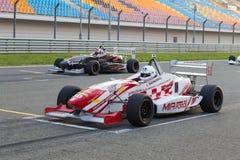Formula Alfa Stock Photo