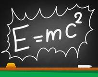 Formula on a black school Board Stock Image