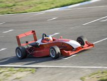 Formula car stock images