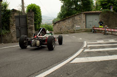 Formula 3 car at Bergamo Historic Grand Prix 2015 Royalty Free Stock Photo